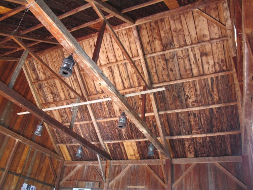 Barn, roof structure
